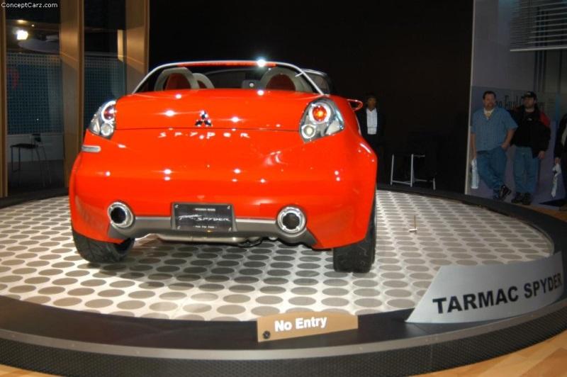 2003 Mitsubishi Tarmac Concept Image Photo 16 Of 37