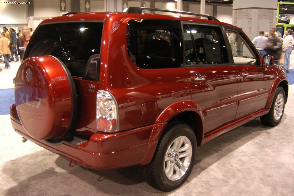 Auction Results and Sales Data for 2004 Suzuki XL-7