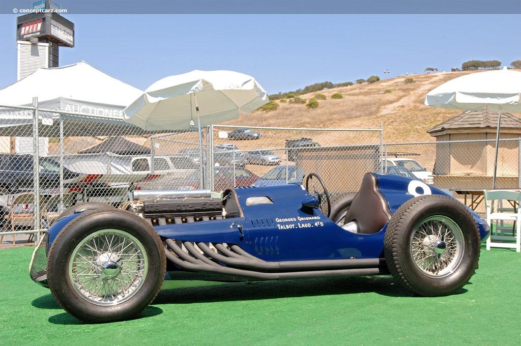 1949 Talbot Lago T 26c Grand Prix Pictures History Value