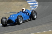 1950 Talbot-Lago T-26C Grand Prix.  Chassis number 110052