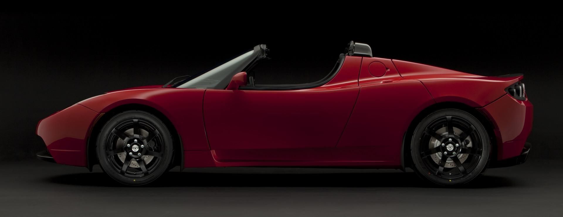 tesla roadster sport news  information
