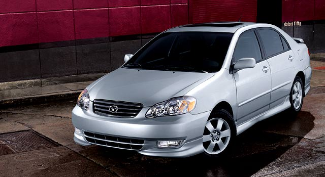 2004 Toyota Corolla Pictures History Value Research