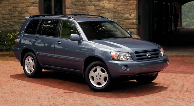 2005 Toyota Highlander History Pictures Value Auction