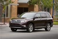 Toyota Highlander Monthly Vehicle Sales
