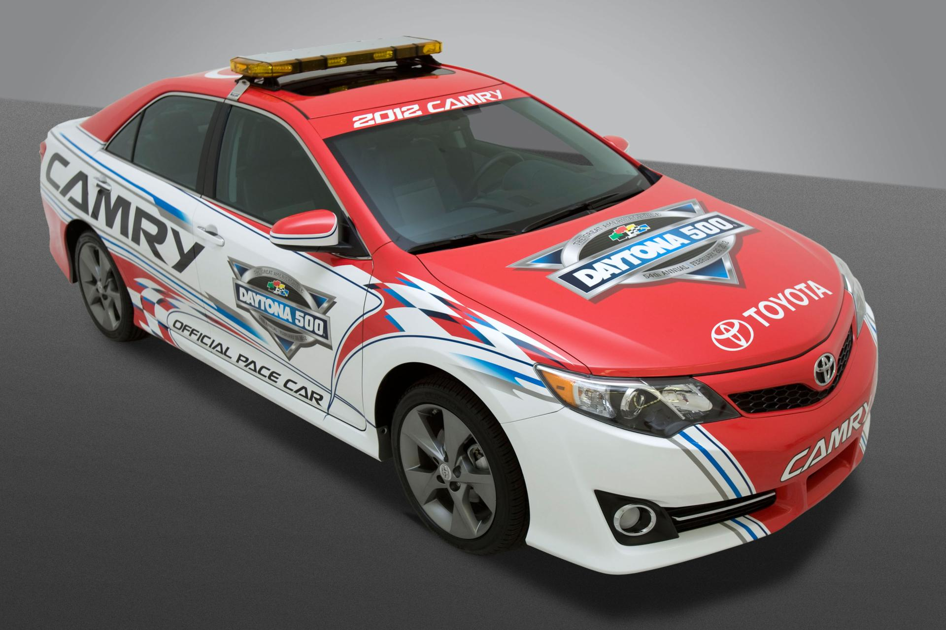 2012 toyota camry daytona 500 pace car news and information. Black Bedroom Furniture Sets. Home Design Ideas