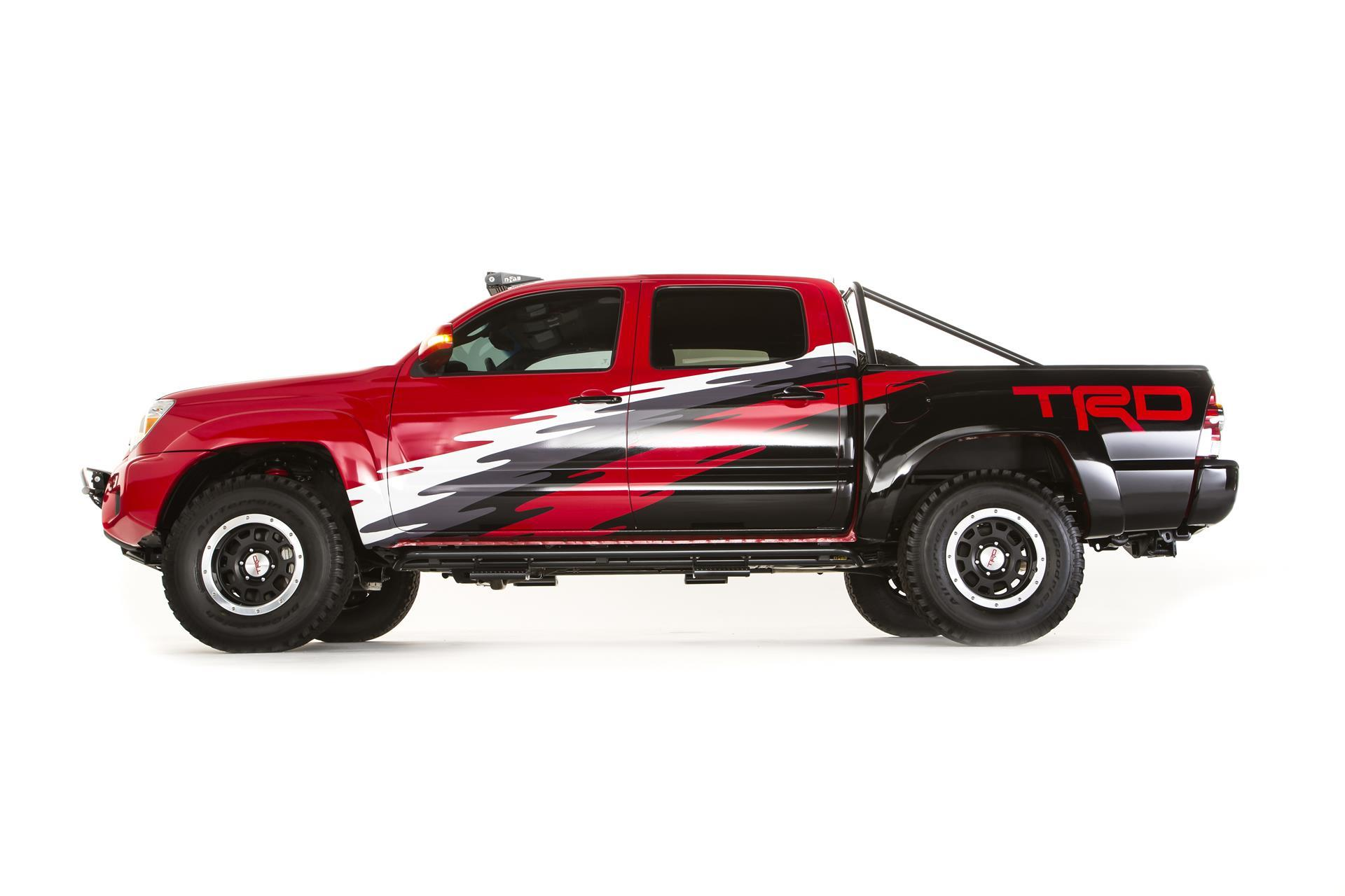 2014 Toyota Tacoma TRD SEMA News and Information