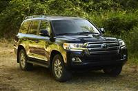 Toyota Land Cruiser Monthly Vehicle Sales