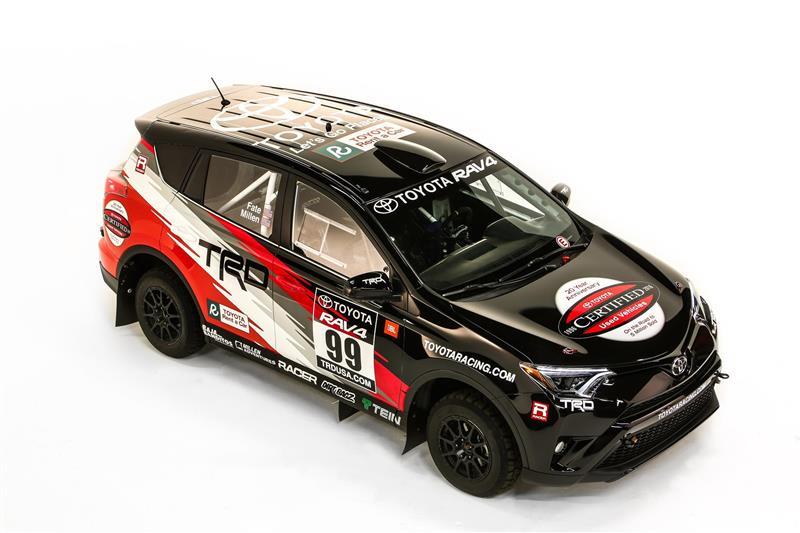 2016 Toyota Rally RAV4