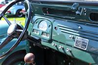 1957 Toyota FJ25 Land Cruiser.  Chassis number 7FJ253628L
