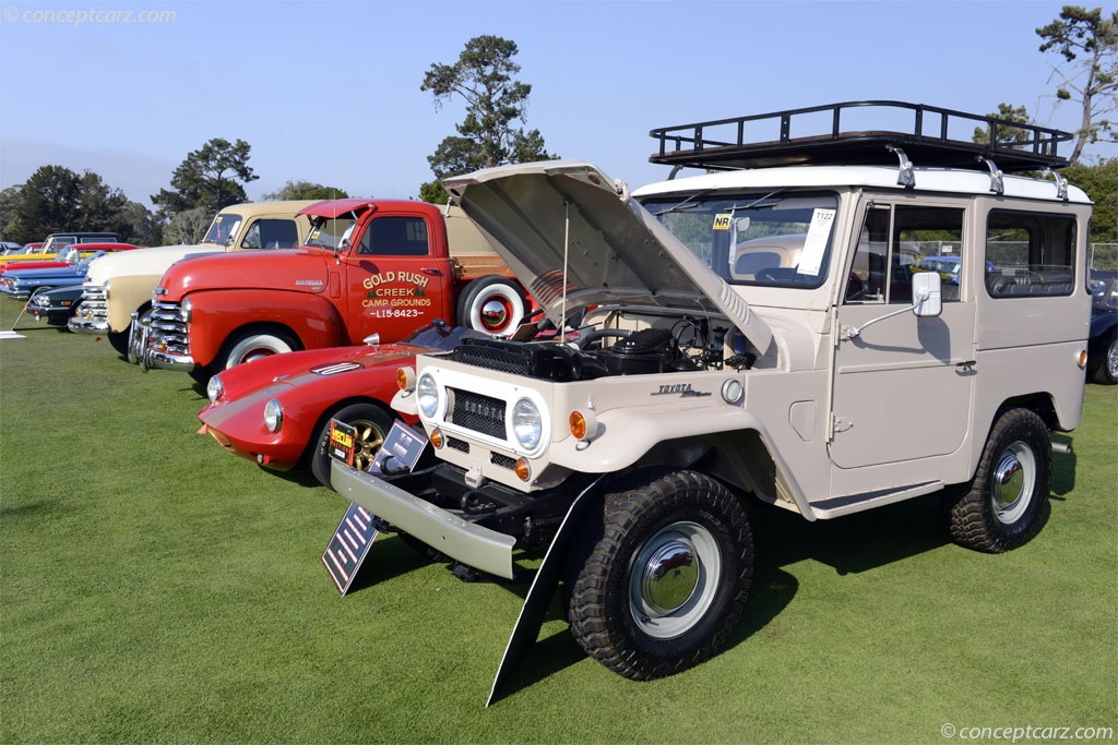 Auction Results and Sales Data for 1968 Toyota Land Cruiser FJ40