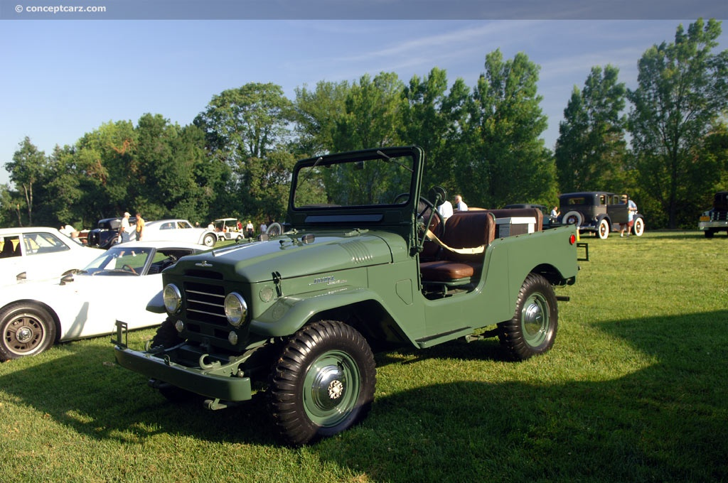 1961 Toyota Fj25 Land Cruiser Pictures History Value