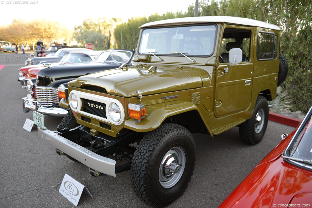 1977 toyota land cruiser fj 40 pictures  history  value Early Toyota Land Cruiser Classic Toyota Land Cruiser Sale