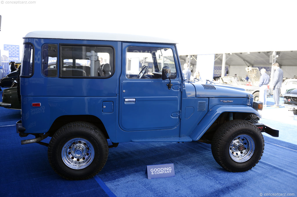 Auction Results and Sales Data for 1983 Toyota Land Cruiser FJ40