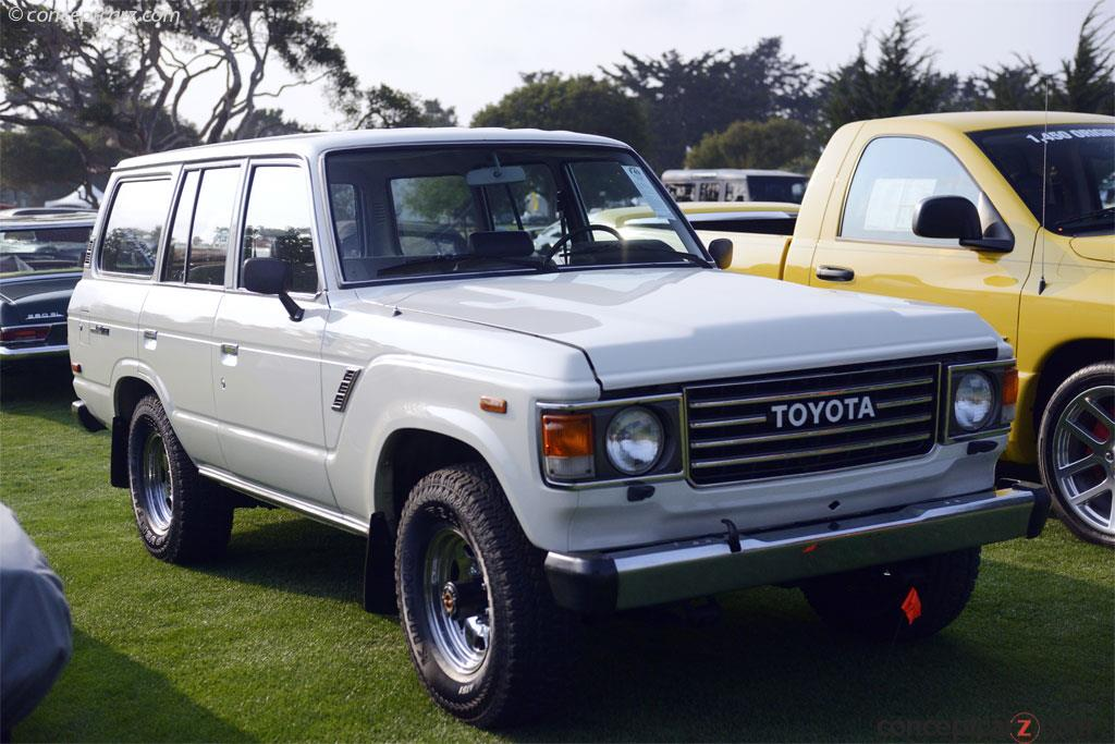 Auction Results and Sales Data for 1987 Toyota Land Cruiser