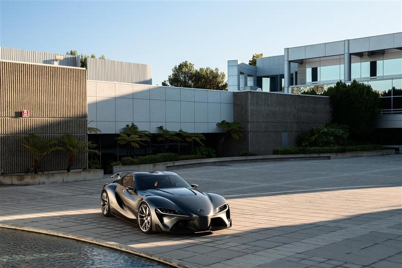 Toyota Ft 1 Concept Price >> 2014 Toyota FT-1 Graphite Concept Image. Photo 33 of 65