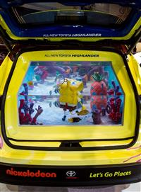 Toyota SpongeBob Highlander