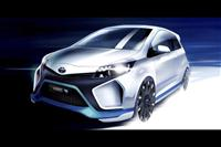 Popular 2013 Yaris Hybrid-R Wallpaper