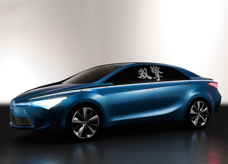 2012 Toyota Yundong Shuangqing Concept pictures and wallpaper