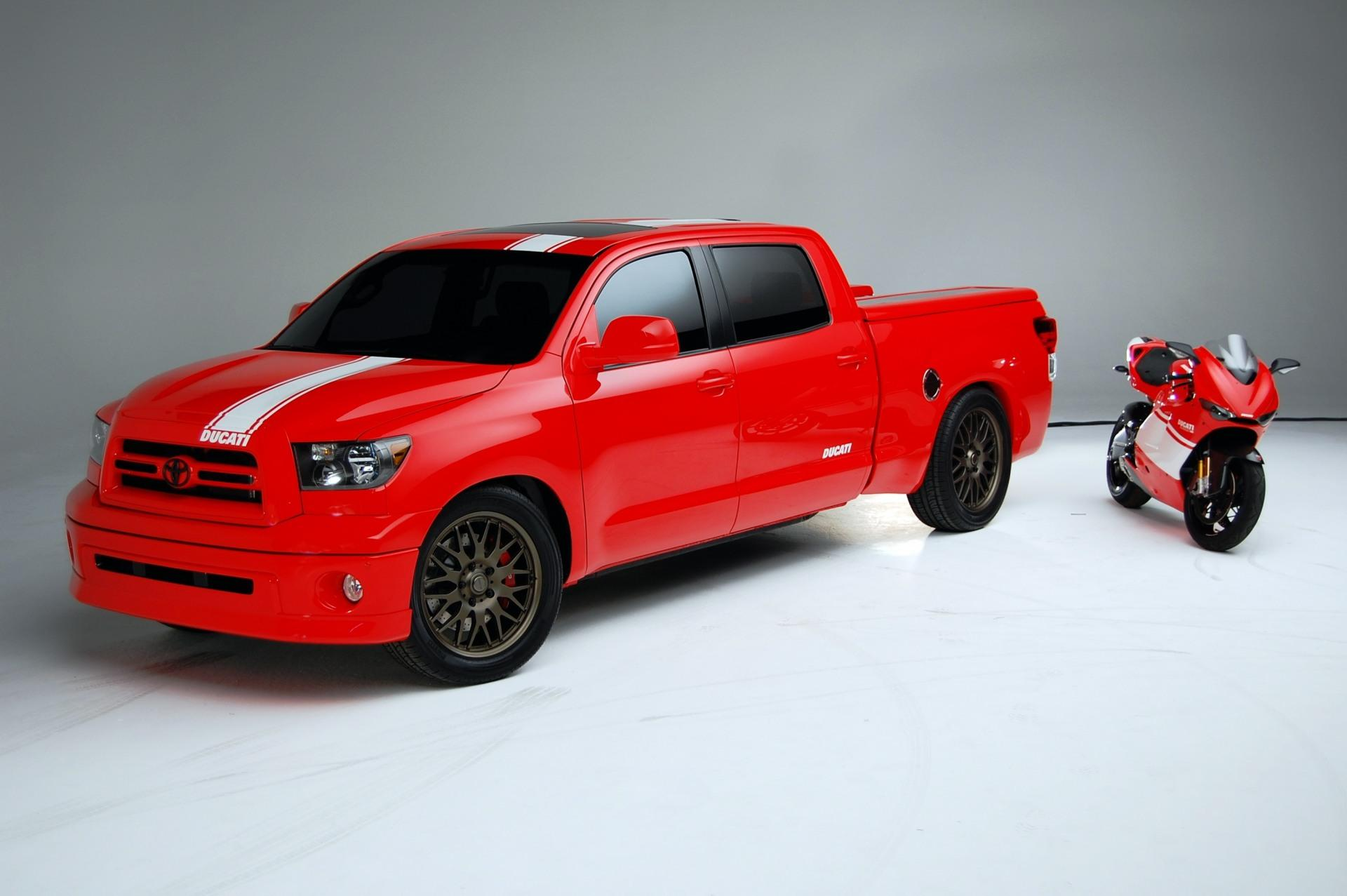 2008 Toyota Tundra Ducati Transporter News And Information