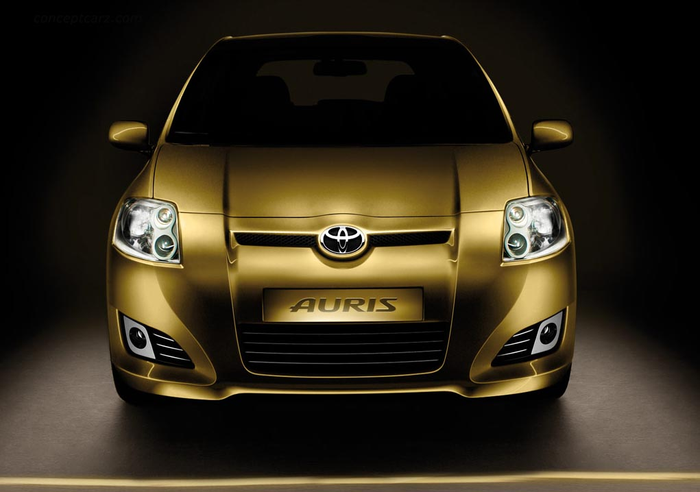 2007 toyota auris pictures history value research news. Black Bedroom Furniture Sets. Home Design Ideas