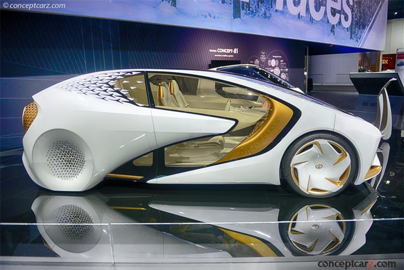 2017 Toyota Concept I Images Conceptcarz Com