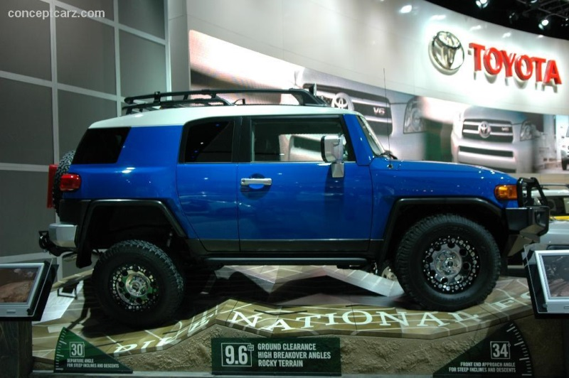 Toyota FJ Cruiser Image Httpswwwconceptcarzcomimages - 2006 fj cruiser