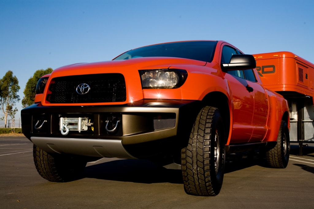 Toyota Tundra Limited >> 2007 Toyota TRD Tundra Off-Road Concept Pictures, History, Value, Research, News - conceptcarz.com