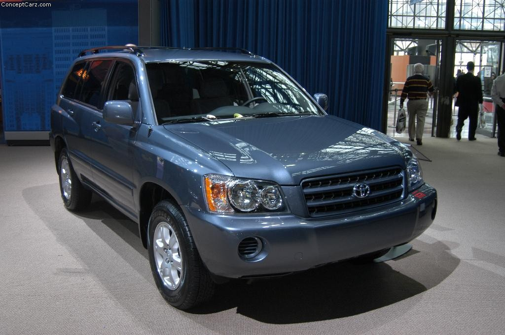 2003 Toyota Highlander Pictures History Value Research News Conceptcarz Com
