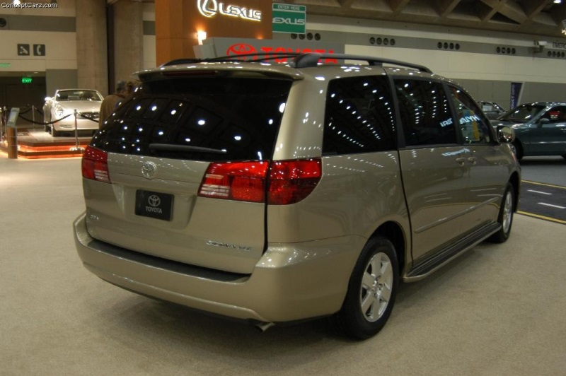 2004 Toyota Sienna Image Conceptcarz Images