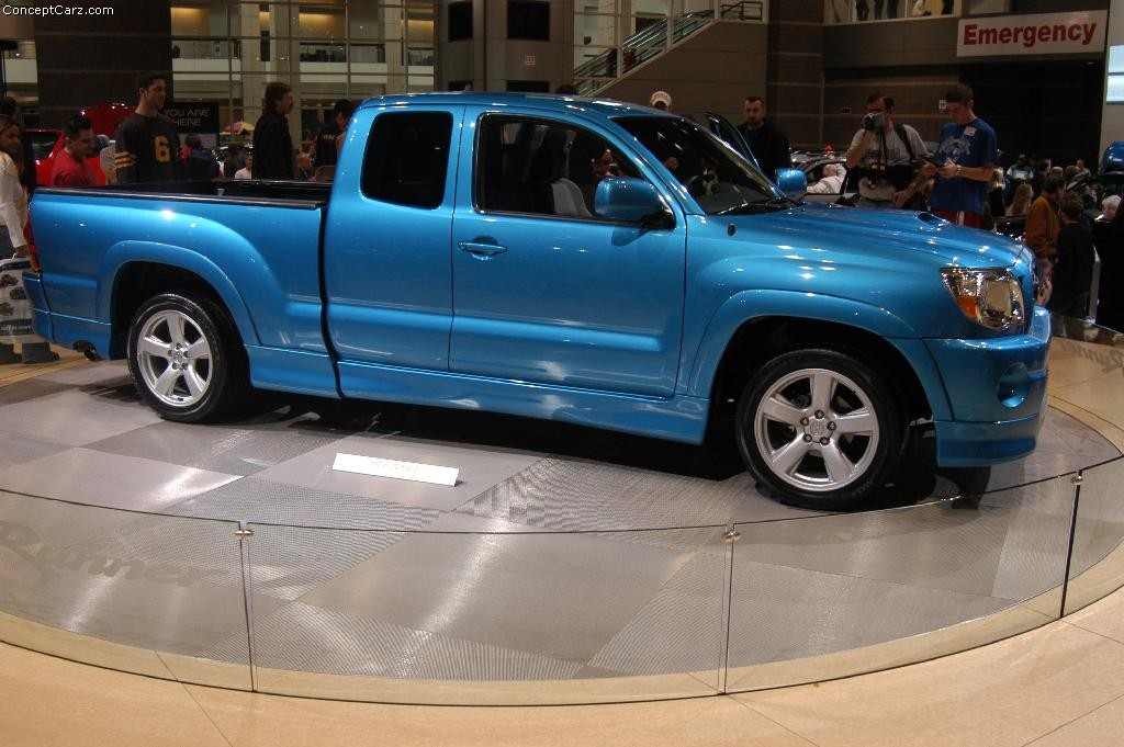 2005 toyota tacoma x runner technical specifications and. Black Bedroom Furniture Sets. Home Design Ideas