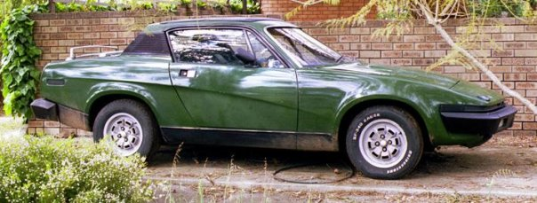 1975 Triumph TR7 pictures and wallpaper