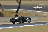 1955 Triumph TR2.  Chassis number TS7141L