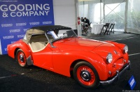 1955 Triumph TR2.  Chassis number TS 6825