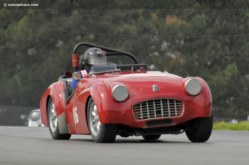 1957 Triumph TR3 chassis information