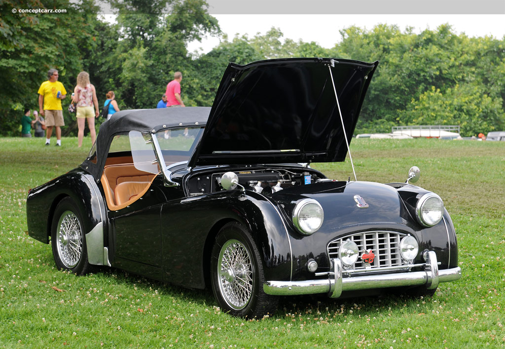 1957 triumph tr3 image chassis number ts 21551 l photo. Black Bedroom Furniture Sets. Home Design Ideas