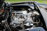 1957 Triumph TR3.  Chassis number TS 21551 L