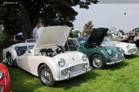 1960 Triumph TR3A.  Chassis number TS 72866