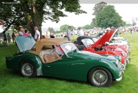 1960 Triumph TR3A.  Chassis number TS 76573 L0