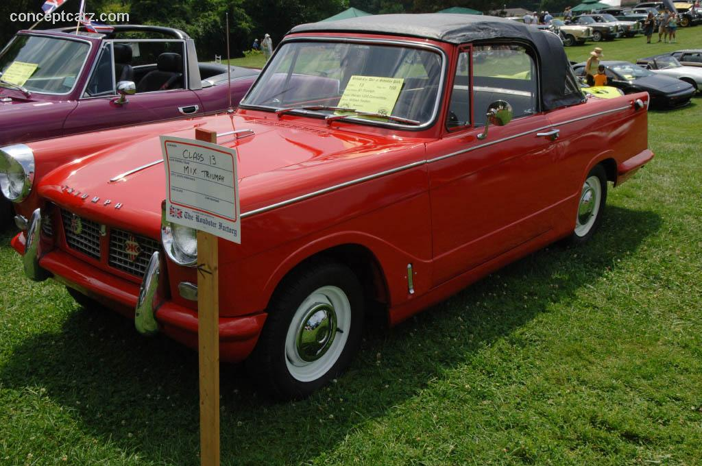 Extrêmement 1961 Triumph Herald 1200 Pictures, History, Value, Research, News  UM29