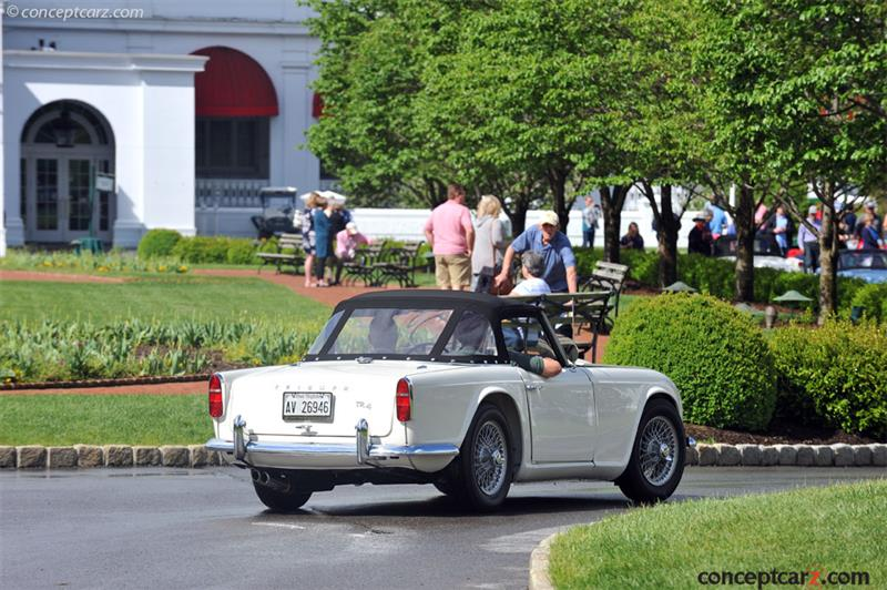 1962 Triumph Tr4 Chassis Information