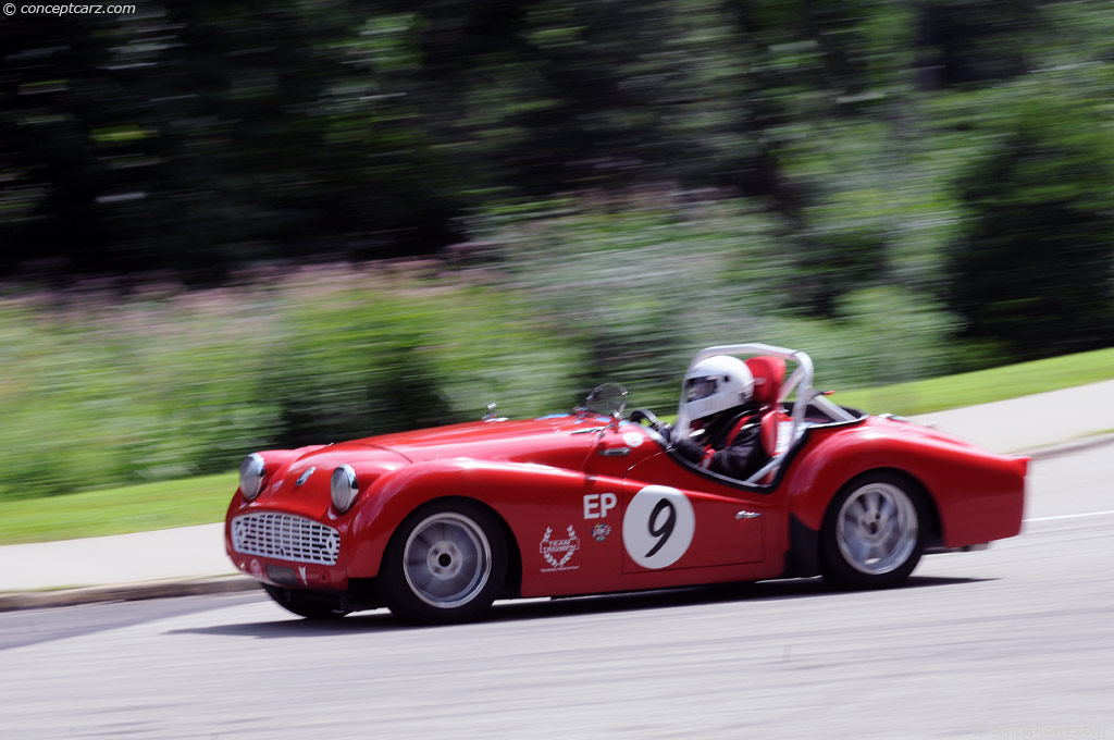 Auction Results and Sales Data for 1962 Triumph TR3B