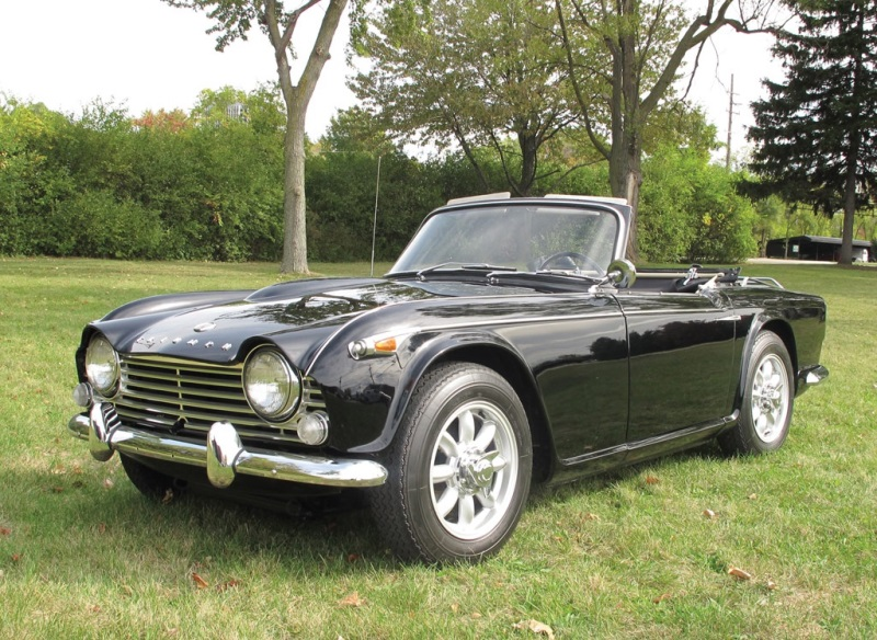 Chassis Ctc67838l 1967 Triumph Tr4a Chassis Information