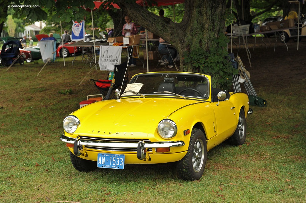 Auction Results and Sales Data for 1969 Triumph Spitfire Mk3