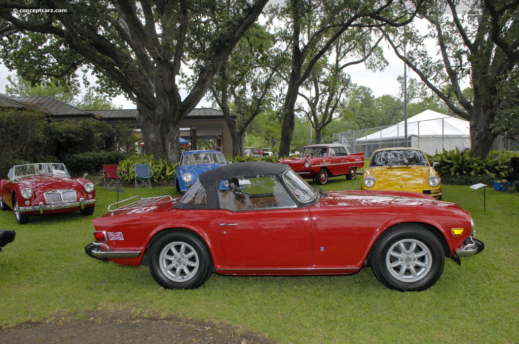 Auction Results and Sales Data for 1974 Triumph TR6