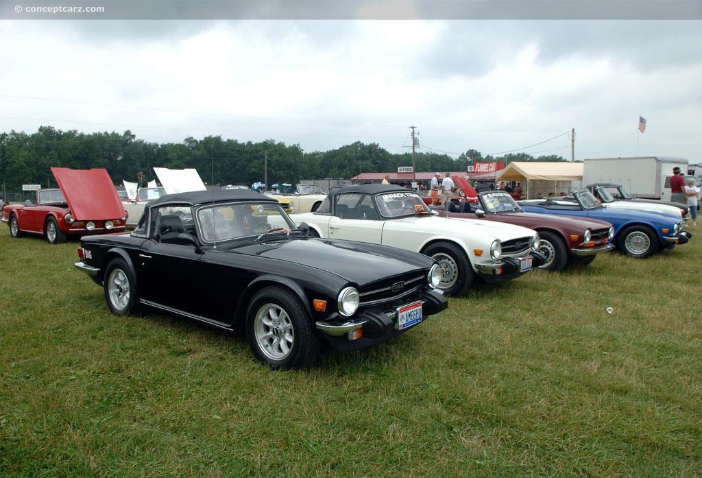 1975 Triumph TR6 History, Pictures, Value, Auction Sales, Research ...