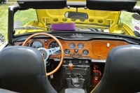 1975 Triumph TR6.  Chassis number T 30806 CF