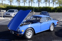 1976 Triumph TR6.  Chassis number CF57955 UO