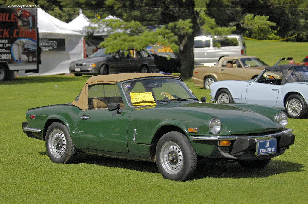 auction results and sales data for 1978 triumph spitfire. Black Bedroom Furniture Sets. Home Design Ideas