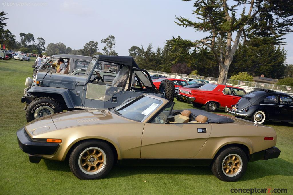 Auction Results and Sales Data for 1979 Triumph TR7