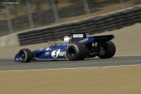 1971 Tyrrell 004.  Chassis number 004